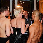 NLD/Amsterdam/20111122 - Presentatie sieradenlijn Cockring van Stacey Rookhuizen, met enkele modellen