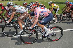 11.07.2015, Kitzbühel, AUT, Österreich Radrundfahrt, 7. Etappe, von Kitzbühel nach Innsbruck, im Bild Stefan Denifl (AUT, Bester Österreicher) // Best Austrian rider Stefan Denifl of Austria during the Tour of Austria, 7th Stage, from Kitzbühl to Innsbruck, Kitzbühel, Austria on 2015/07/11. EXPA Pictures © 2015, PhotoCredit: EXPA/ Reinhard Eisenbauer