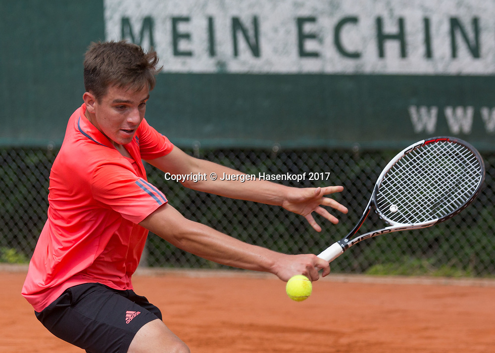 TIM HOFMANN(GER), Bavarian Junior Open 2017, Tennis Europe Junior Tour, BS 16<br /> <br /> Tennis - Bavarian Junior Open 2017 - Tennis Europe Junior Tour -  SC Eching - Eching - Bayern - Germany  - 8 August 2017. <br /> &copy; Juergen Hasenkopf