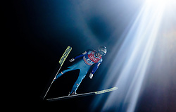 05.01.2016, Paul Ausserleitner Schanze, Bischofshofen, AUT, FIS Weltcup Ski Sprung, Vierschanzentournee, Qualifikation, im Bild Michael Hayboeck (AUT) // Michael Hayboeck of Austria during his Qualification Jump for the Four Hills Tournament of FIS Ski Jumping World Cup at the Paul Ausserleitner Schanze, Bischofshofen, Austria on 2016/01/05. EXPA Pictures © 2016, PhotoCredit: EXPA/ JFK