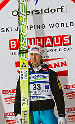 05.02.2011, Heini Klopfer Skiflugschanze, Oberstdorf, GER, FIS World Cup, Ski Jumping, Finale, im Bild Martin Koch (AUT) , during ski jump at the ski jumping world cup in Oberstdorf, Germany on 05/02/2011, EXPA Pictures © 2011, PhotoCredit: EXPA/ P. Rinderer