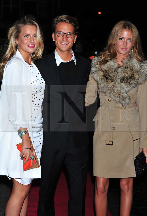 © Licensed to London News Pictures. 18/01/2012. London, England.Caggie Dunlop, Millie Mackintosh and Francis Boulle attends the Daily Mail Inspirational Women awards 2012 at the Marriot Grosvenor Hotel London  Photo credit : ALAN ROXBOROUGH/LNP
