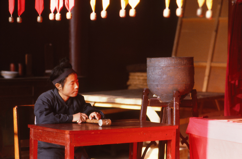 Changchung Temple, Wuhan, 1986.