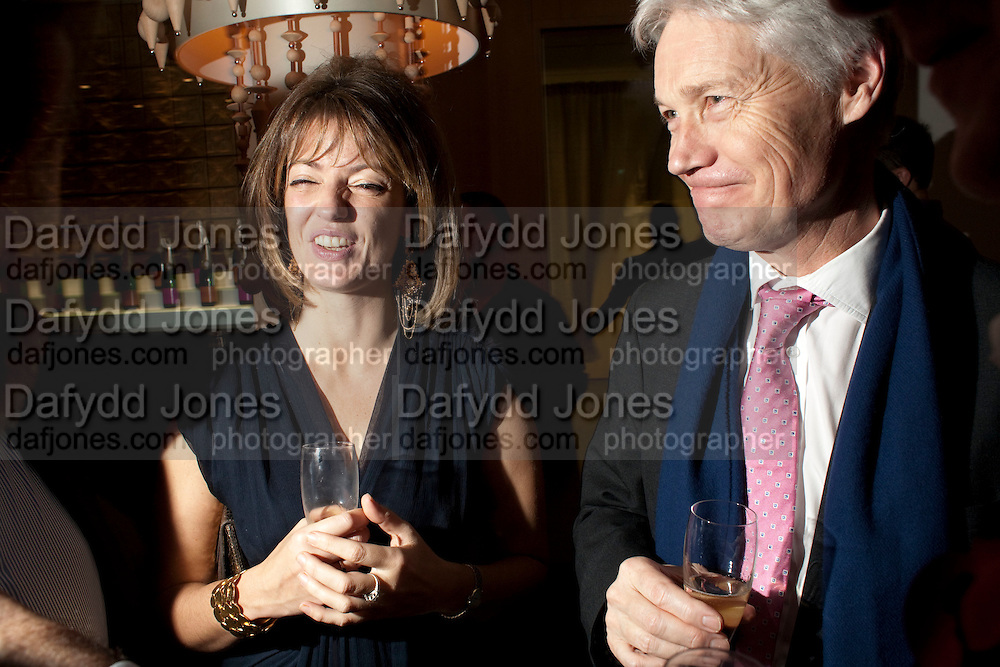 PETRONELLA WYATT; RICHARD KAY, Launch of Nicky Haslam's book Redeeming Features. Aqua Nueva. 5th floor. 240 Regent St. London W1.  5 November 2009.  *** Local Caption *** -DO NOT ARCHIVE-© Copyright Photograph by Dafydd Jones. 248 Clapham Rd. London SW9 0PZ. Tel 0207 820 0771. www.dafjones.com.<br /> PETRONELLA WYATT; RICHARD KAY, Launch of Nicky Haslam's book Redeeming Features. Aqua Nueva. 5th floor. 240 Regent St. London W1.  5 November 2009.