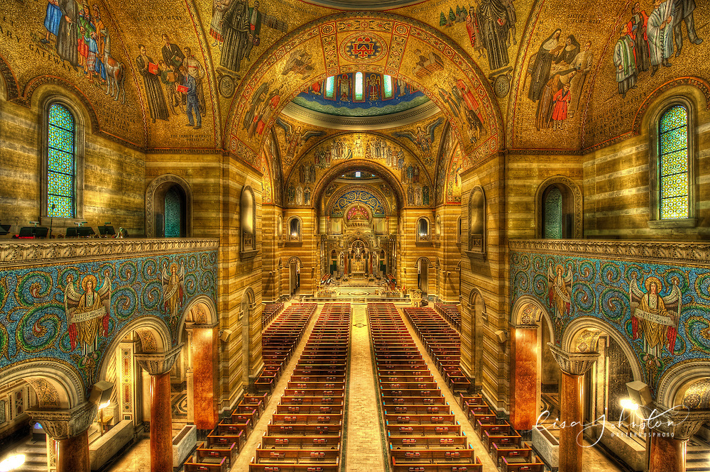 Interior Of The Cathedral Basilica Of St Louis In St Louis Missouri Aeternus Photography