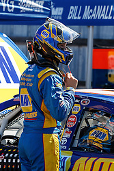 ROSEBURG, OR - AUGUST 27: Todd Gilliland driver of the #16 NAPA Auto Parts Toyota stands next to his car during practice for the NASCAR K&N Pro Series West Toyota/NAPA Auto Parts 150 at the Douglas County Speedway on August 27, 2016 in Roseburg, Oregon. (Photo by Jason O. Watson/NASCAR via Getty Images) *** Local Caption *** Todd Gilliland