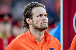 09.06.2017, De Kuip Stadium, Rotterdam, NED, FIFA WM 2018 Qualifikation, Niederlande vs Luxemburg, Gruppe A, im Bild Daley Blind of Netherlands // Daley Blind of Netherlands during the FIFA World Cup 2018, group A qualifying match between Netherlands and Luxemburg at the De Kuip Stadium in Rotterdam, Netherlands on 2017/06/09. EXPA Pictures © 2017, PhotoCredit: EXPA/ Focus Images/ Joep Joseph Leenen<br /> <br /> *****ATTENTION - for AUT, GER, FRA, ITA, SUI, POL, CRO, SLO only*****