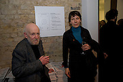 GUSTAV METZGER; EVA WEINMAYR, Whitechapel celebrates its expansion into the building next door with an opening party. London. 2 April  2009
