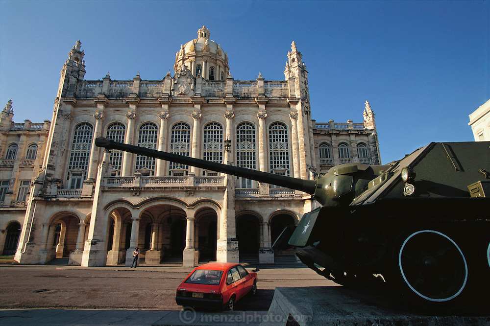 Museum of the Revolution, Havana, Cuba. (Museo de la Revolución).