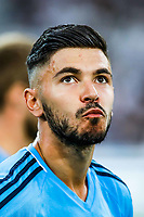 Morgan Sanson of Marseille  during the Ligue 1 match between Olympique Marseille vs Dijon FCO at Stade Velodrome on August 6, 2017 in Marseille, France.<br /> Photo by Guillaume Ruoppolo / Icon Sport