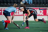 AMSTELVEEN -  Noor de Baat (A'dam)   tijdens   de oefenwedstrijd tussen Amsterdam en Laren dames   COPYRIGHT KOEN SUYK