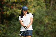 October 10, 2017 - Johnson City, Tennessee - Warren-Greene Golf Center: Kornbongkoat Sararat<br /> <br /> Image Credit: Dakota Hamilton/ETSU
