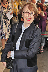 © London News Pictures. 18/06/2013. London, UK. Una Stubbs at The Cripple of Inishmaan - Press Night. Photo credit: Brett D. Cove/LNP