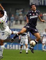 Fotball<br />Argentina<br />08/11/03 QUILMES (0 ) Vs. VELEZ SARSFIELD (1 ). Football - Bs. As. - Argentina. Fourteenth match of the Torneo Apertura 2003.<br />CEBALLOS (QUILMES)<br />Foto: Digitalsport
