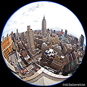 March 10, 2010  •  New York City (Manhattan)  •   view from 1400 Broadway/38th Street  •  8mm Sigma