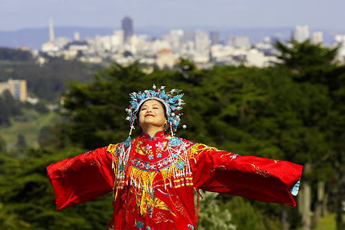 a chinese bride in san francisco.