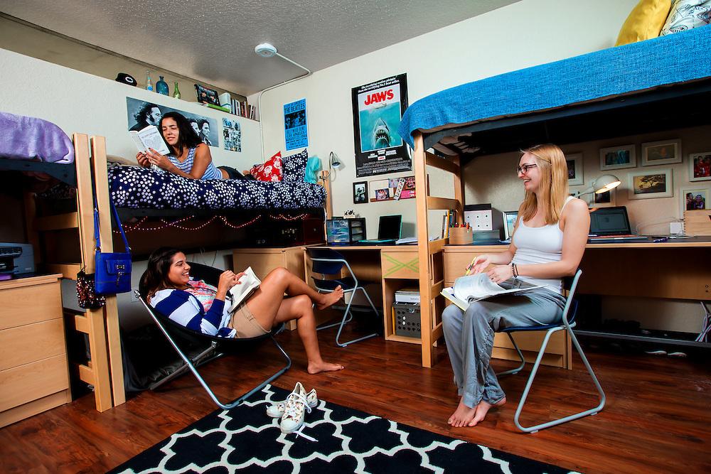 SARASOTA, FL -- September 18, 2014 -- New College of Florida dorms (PHOTO / Chip Litherland for New College of Florida)