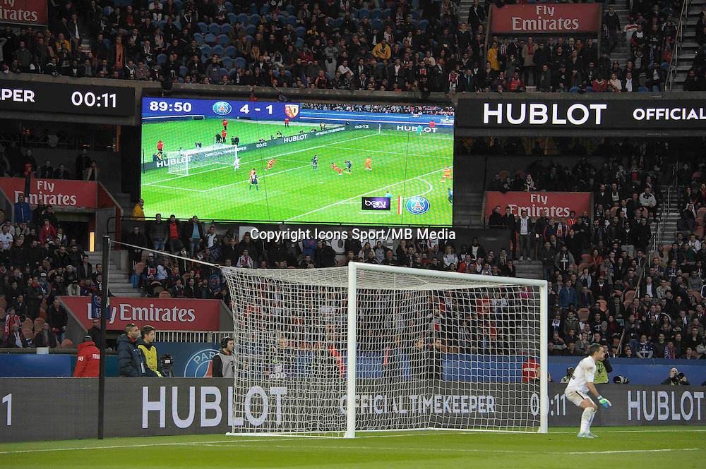 Illustration score  - 07.03.2015 -   PSG / Lens -  28eme journee de Ligue 1 <br />Photo : Andre Ferreira / Icon Sport