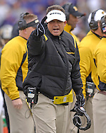 Missouri head coach Gary Pinkel during the first half at Bill Snyder Family Stadium in Manhattan, Kansas, November 19, 2005.  K-State defeated the Missouri Tigers 36-28.