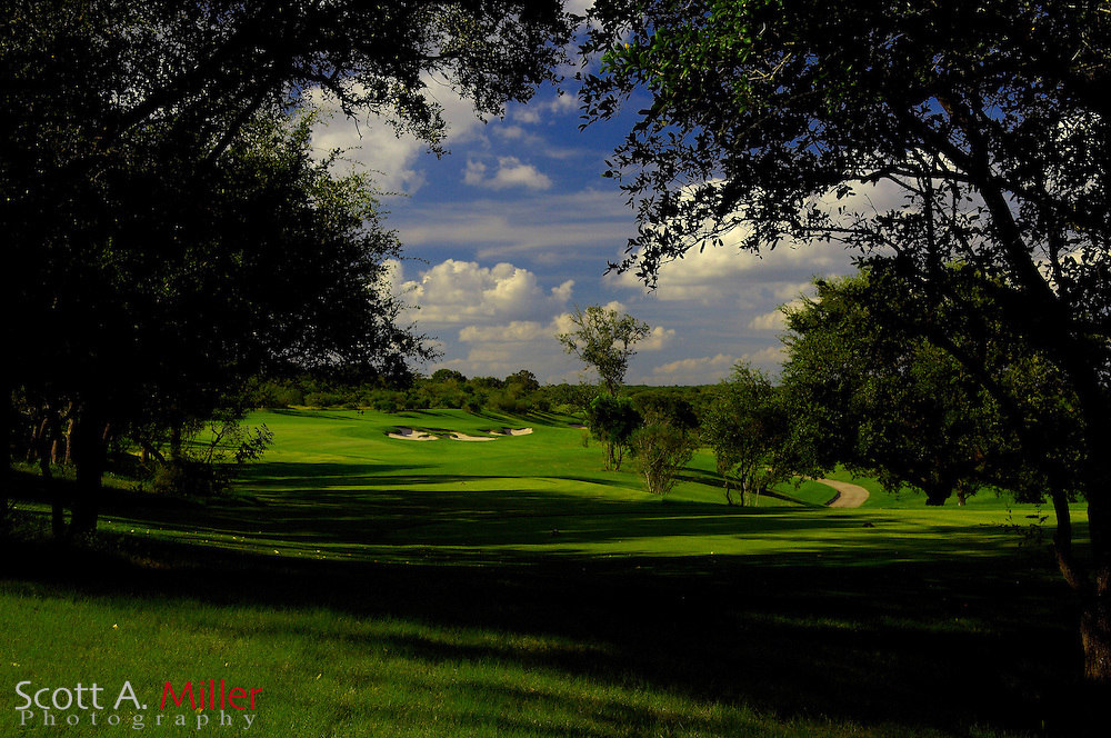 September 7, 2007, San Antonio, Texas; Hole No. 13 at the Briggs Ranch Golf CLub...                ©2007 Scott A. Miller