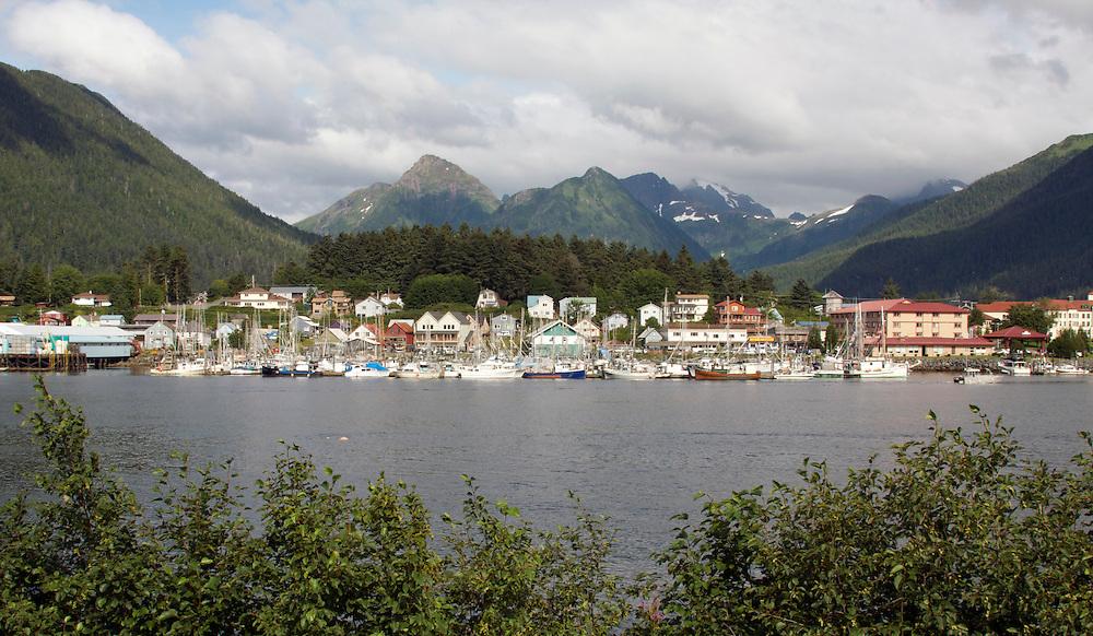 Southeast Alaska by boat. Sitka, Juneau, Ketchikan.