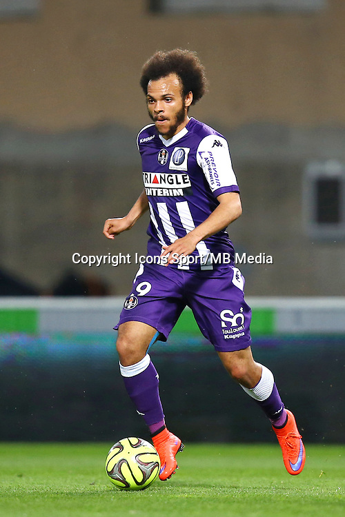 Martin Braithwaite - 25.04.2015 - Toulouse / Nantes - 34eme journee de Ligue 1<br />