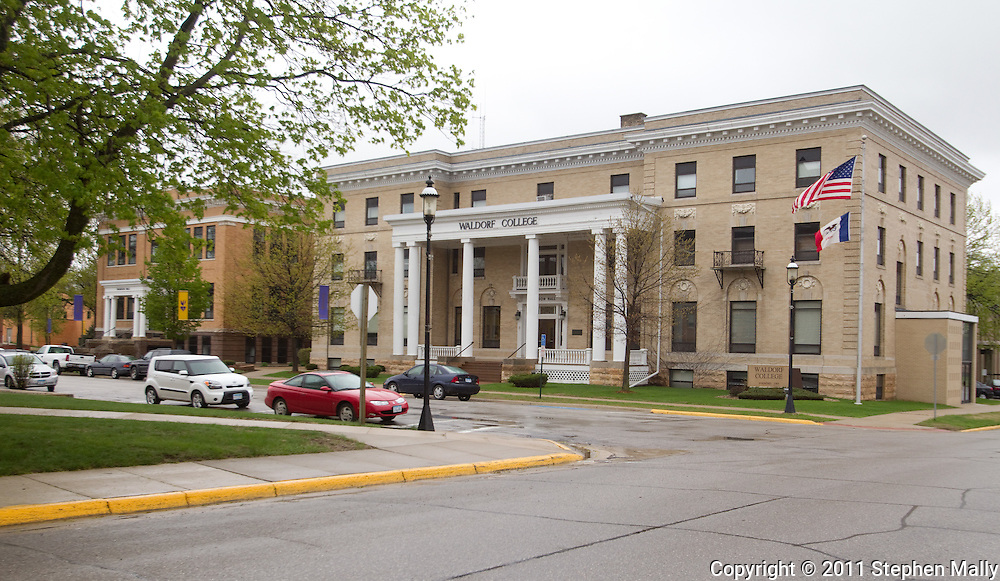 Waldorf College in Forest City, Iowa on Saturday, May 14, 2011.