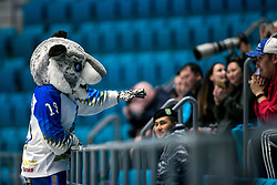 Official mascot during ice hockey match between Hunngary and Kazakhstan at IIHF World Championship DIV. I Group A Kazakhstan 2019, on May 3, 2019 in Barys Arena, Nur-Sultan, Kazakhstan. Photo by Matic Klansek Velej / Sportida