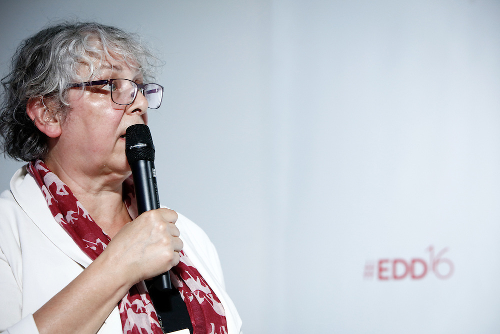 20160615 - Brussels , Belgium - 2016 June 15th - European Development Days - Resource use and management - Successfully implementing the Sustainable Development Goals - Ester van der Voet , IRP Panel Member , Associate Professor and Senior Researcher , institute of environmental sciences - leiden university © European Union