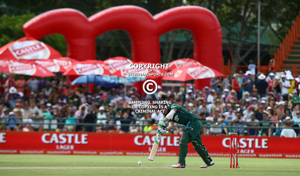 Cape Town, SOUTH AFRICA,  2016 - 14 February,  AB de Villiers (c) of South Africa during the 5th South Africa v England 1 Day match at PPC  Newlands Cape Town, South Africa. (Photo by Steve Haag)<br /> <br /> Images for social media must have consent from Steve Haag