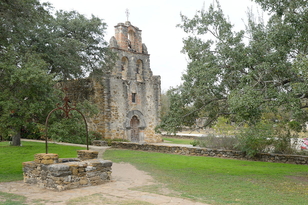 Mission San Francisco de la Espada,National Historic Park, San Antonio, Texas, USA. near city of San Antonio,,Texas,USA