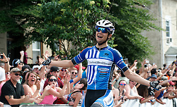 USA's Kiel Reijnen and Evelyn Stevens win Philly Cycling Classic. <br /> <br /> Scenes from the 2011-2014 Philadelphia International Bicyling Classic #ManayunkWall Bike Race, traditionally held in the first week of June. (photo by Bastiaan Slabbers/BasSlabbers.com)<br /> <br /> For license options of Philadelphia International Cycling Classic related imagery please visit my editoiral stock portfolio at Getty Images/iStock.com: istockphoto.com/portfolio/basslabbers
