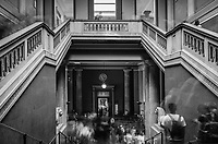 Inside The British Museum - London, England, 2017