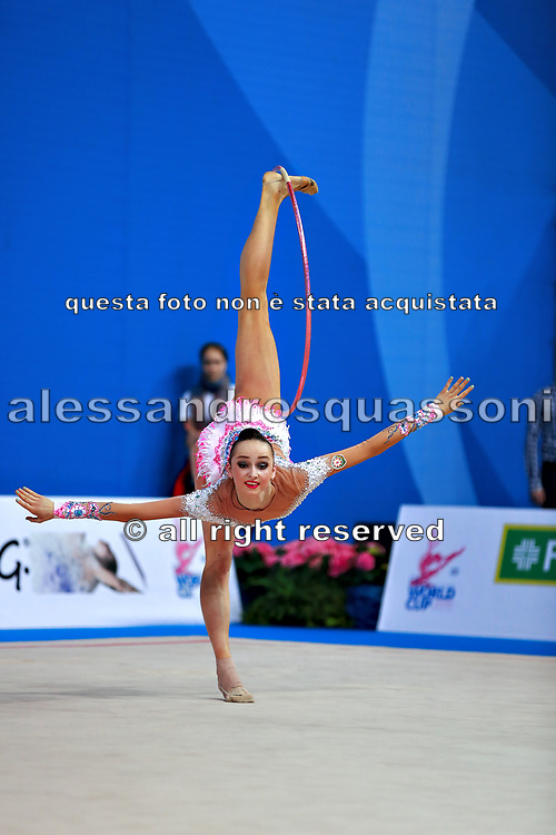 Durunda Marina is a Azerbaijani individual rhythmic gymnast of Ukrainian origin. In June 2017 she decided to retire from the sport.
