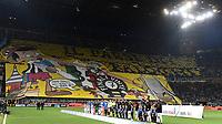 Atmosphere Inter supporters and team line up Coreografia <br /> Milano 28-04-2018 Stadio Giuseppe Meazza in San Siro Football Calcio Serie A 2017/2018 Inter - Juventus Foto Andrea Staccioli / Insidefoto
