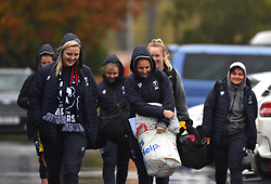 Players arrive at Shaftesbury Park - Mandatory by-line: Paul Knight/JMP - 26/10/2019 - RUGBY - Shaftesbury Park - Bristol, England - Bristol Bears Women v Richmond Women - Tyrrells Premier 15s
