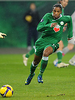 Fotball<br /> Tyskland<br /> Foto: Witters/Digitalsport<br /> NORWAY ONLY<br /> <br /> 26.02.2009<br /> <br /> Caiuby<br /> Fussball VfL Wolfsburg<br /> UEFA-Cup VfL Wolfsburg - Paris St. Germain