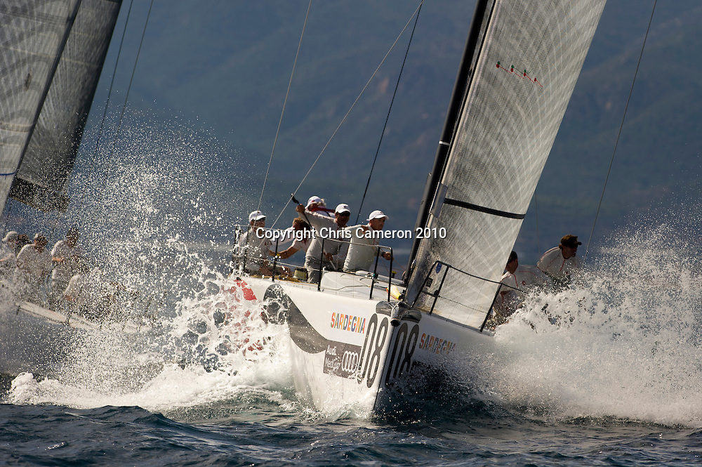 Matador (ESP). Race two on Day one of the Trophy of Sardinia, Audi MedCup 2010. 21/9/2010