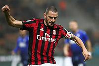 Milan-Lazio - Tim Cup 2017/18 - Semifinale di andata - Nella foto: Leonardo Bonucci  - Milan