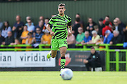 Forest Green Rovers Taylor Allen(12) during the EFL Sky Bet League 2 match between Forest Green Rovers and Newport County at the New Lawn, Forest Green, United Kingdom on 31 August 2019.