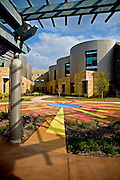 The Healing Garden at the Dell Children's Hospital, Austin Texas, March 8, 2009.