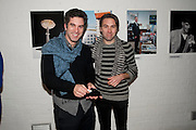 RAPHAEL EDWARDS; SEAN BIDDER, Wallpaper* Design Awards. Wilkinson Gallery, 50-58 Vyner Street, London E2, 14 January 2010 *** Local Caption *** -DO NOT ARCHIVE-© Copyright Photograph by Dafydd Jones. 248 Clapham Rd. London SW9 0PZ. Tel 0207 820 0771. www.dafjones.com.<br /> RAPHAEL EDWARDS; SEAN BIDDER, Wallpaper* Design Awards. Wilkinson Gallery, 50-58 Vyner Street, London E2, 14 January 2010