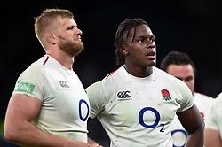 Maro Itoje of England looks on after the match - Mandatory byline: Patrick Khachfe/JMP - 07966 386802 - 03/11/2018 - RUGBY UNION - Twickenham Stadium - London, England - England v South Africa - Quilter International