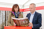 Royal Highland Show 2015, Royal Highland Centre, Ingliston, Edinburgh.<br /> COPYRIGHT CRAIG STEPHEN 2015. <br /> Tel: 07905 483532.<br /> info@craig-stephen.co.uk<br /> <br /> Egger stand Royal Highland Show