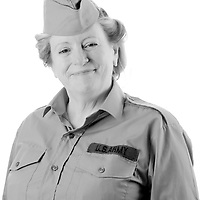 Isobel King has never served with the Armed Forces.  Just as important though is the task of keeping troops and veterans entertained.  Isobel is an entertainer with the 1940's roadshow and regularly attends Forces and Vetran events.