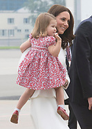 Princess Charlotte & Kate Middleton, Warsaw, Poland