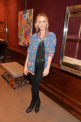 MONET MAZUR at the opening of the exhibition 'My Mother Was A Reeler' at Etro, 43 Old Bond Street, London on 5th October 2016.