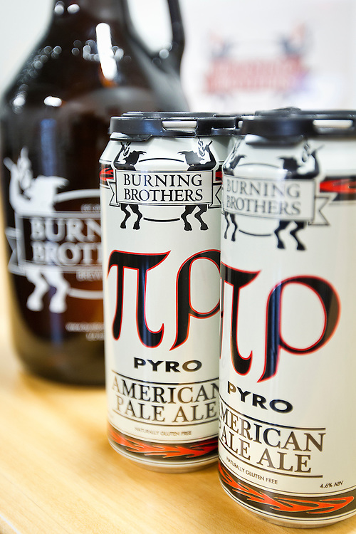 The all gluten-free brewery Burning Brothers Brewing Company in St. Paul, Saturday, May 31, 2014. [ BEN BREWER • Special to the Star Tribune _ Assignments #  20034753A  DATE: May 31, 2014 SLUG: greenline.vita EXTRA INFORMATION:
