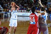 DESCRIZIONE : Venezia Additional Qualification Round Eurobasket Women 2009 Italia Croazia<br /> GIOCATORE : Chiara Pastore<br /> SQUADRA : Nazionale Italia Donne<br /> EVENTO : Italia Croazia<br /> GARA :<br /> DATA : 10/01/2009<br /> CATEGORIA : Tiro<br /> SPORT : Pallacanestro<br /> AUTORE : Agenzia Ciamillo-Castoria/M.Gregolin