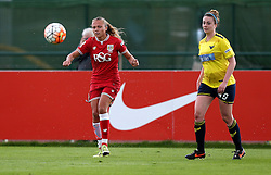 Claire Emslie of Bristol City Women crosses the ball - Mandatory by-line: Robbie Stephenson/JMP - 25/06/2016 - FOOTBALL - Stoke Gifford Stadium - Bristol, England - Bristol City Women v Oxford United Women - FA Women's Super League 2
